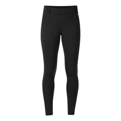 Kerrits Powerstretch Pocket tight II with Kneepatch - BLACK