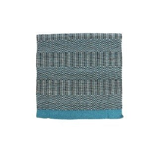 "Fort Worth Double Weave Saddle Blanket 32x64"" - TURQUOISE"