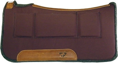 "Diamond Wool Contoured Relief Pad 1"" PC30 - CHOCOLATE"