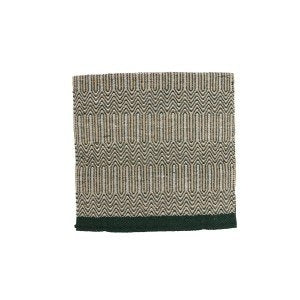 "Fort Worth Double Weave Saddle Blanket 32x64"" - GREEN"