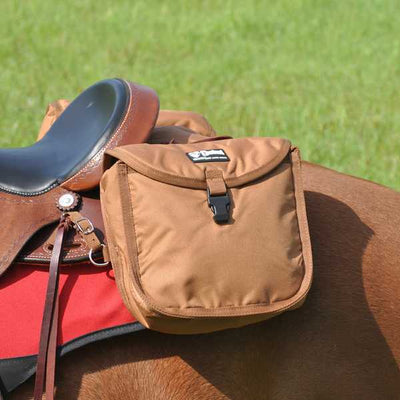 Cashel Saddle Bag Standard Rear - TAN