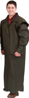 Nullabor Oilskin Coat Full Length
