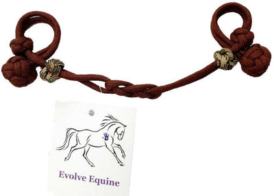 Bit Hobble Infinity - by Evolve Equine - Brown with Camo