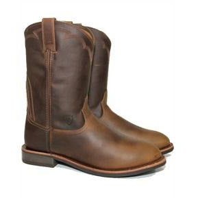 Mens Ariat Dura Roper Side View