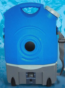 The Portable Horse Washer - BLUE