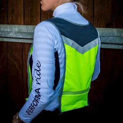 Hi-Vis Vest Bib for Horse Riders