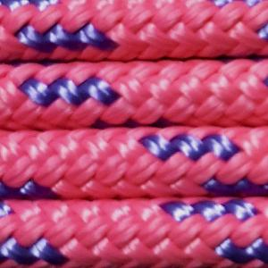 Nungar Knots 6mm Headstall - PINK PURPLE