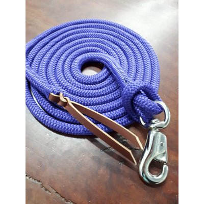 Nungar Knots Suityaself Lead with removable Cast Bull Clip - PURPLE