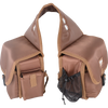 Cashel Saddle Bag Deluxe Rear - BROWN