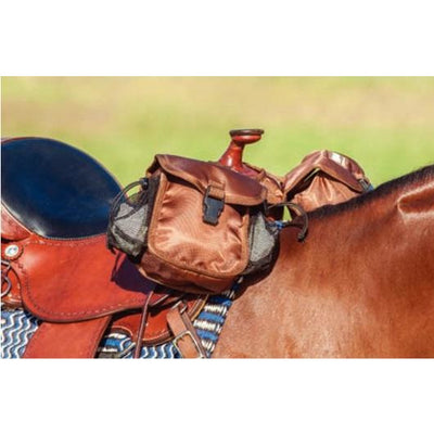Cashel Saddle bag - Small Horn bag