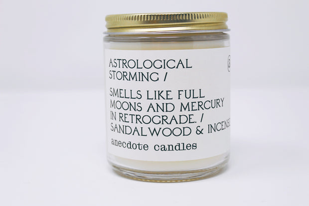 Astrological Storming Candle