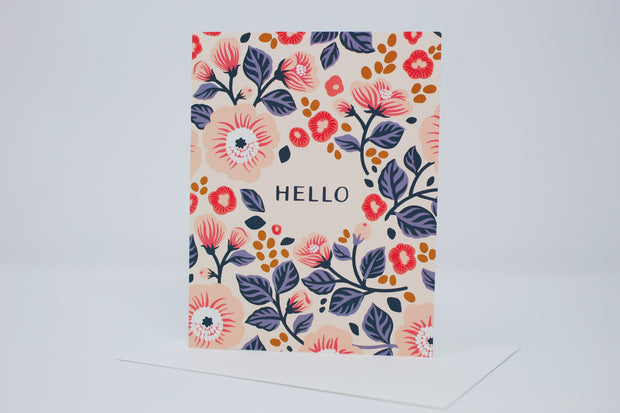 Hello! Greeting Card