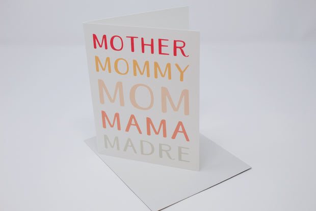 Mother! Greeting Card