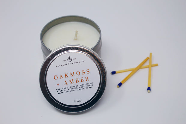 Oakmoss & Amber Mini Candle