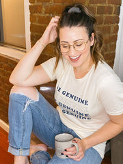 Be Genuine Tee