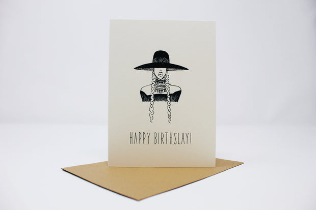 Happy Birthslay Card
