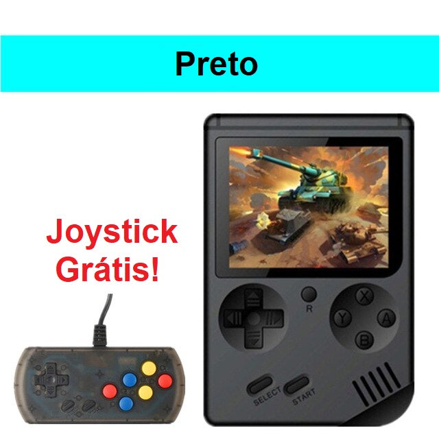 Super GameRetro Plus com JoyStick by TeslaBrasilStore 2019