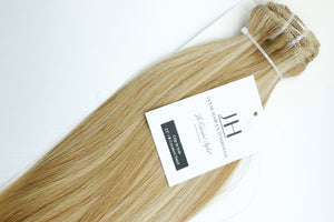 "Caramel Swirl 22"" Clip-In Hair Extensions (#18/60)"