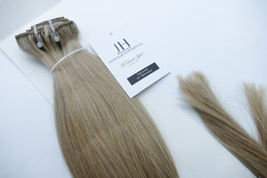 "Desmon 22"" Ash Blonde Clip-In Hair Extensions (60A)"