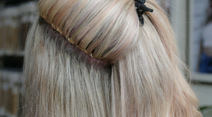 Invisible Bead - Hand Tied Hair Extension Method