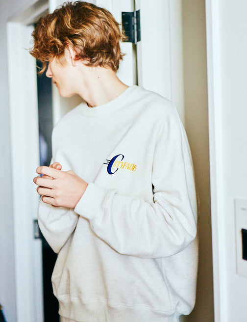 CITYFADE EMBROIDERED SWEAT