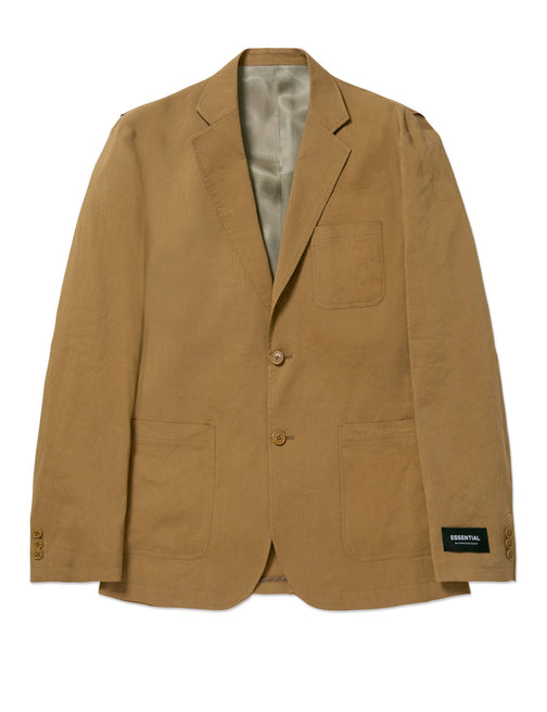 2B LINEN PATCH POCKET SET UP JACKET