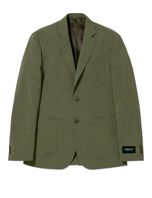 2B LINEN LIKE PATCH POCKET SET UP JACKET