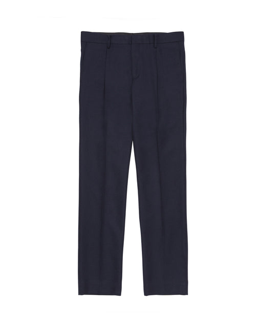 NAVY SET UP PANT SLIM FIT