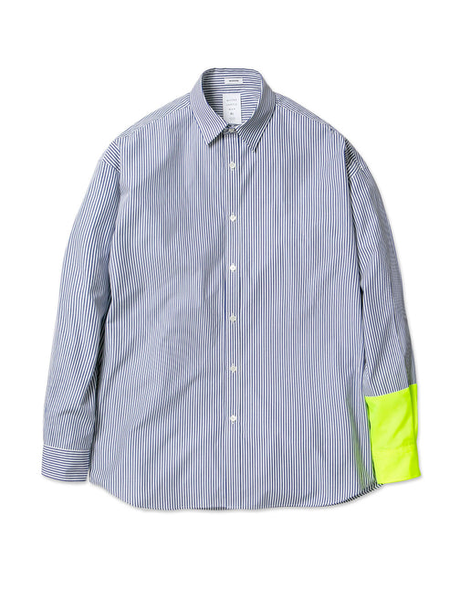 NEON COLOR SLEEVE MODERN SHIRT