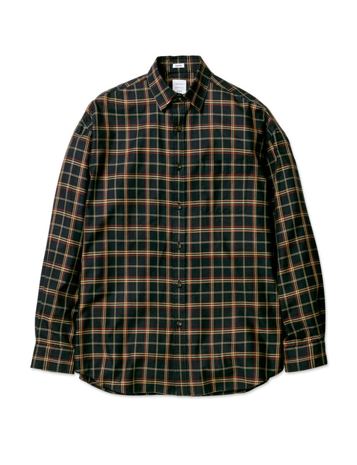 MIDDLE CHECK MODERN SHIRT