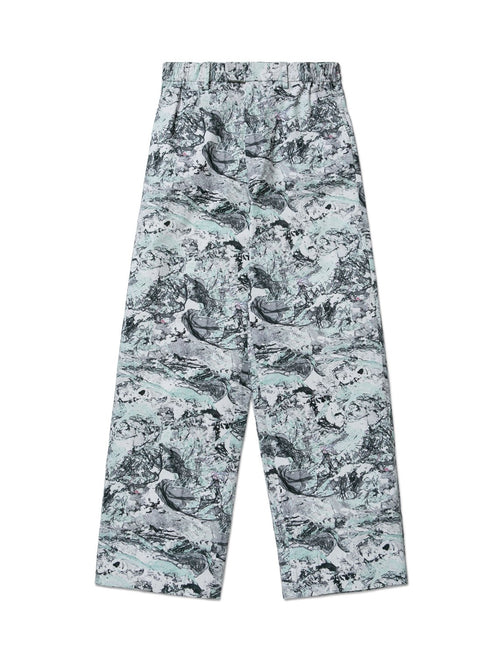 MARBLE SUPER WIDE PANT