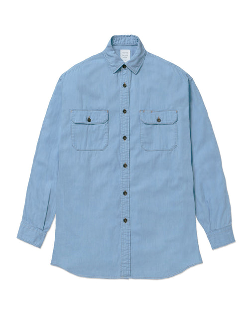 DENIM BIG WORK SHIRT