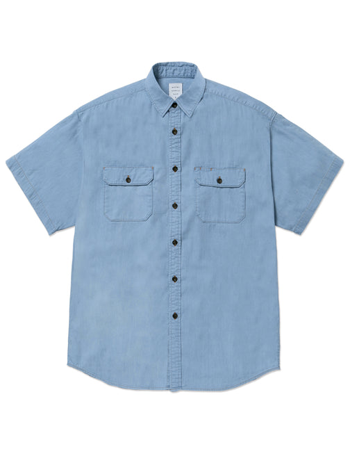 DENIM BIG WORK S/S SHIRT