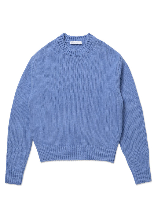 LOW GUAGE CREW NECK SWEATER
