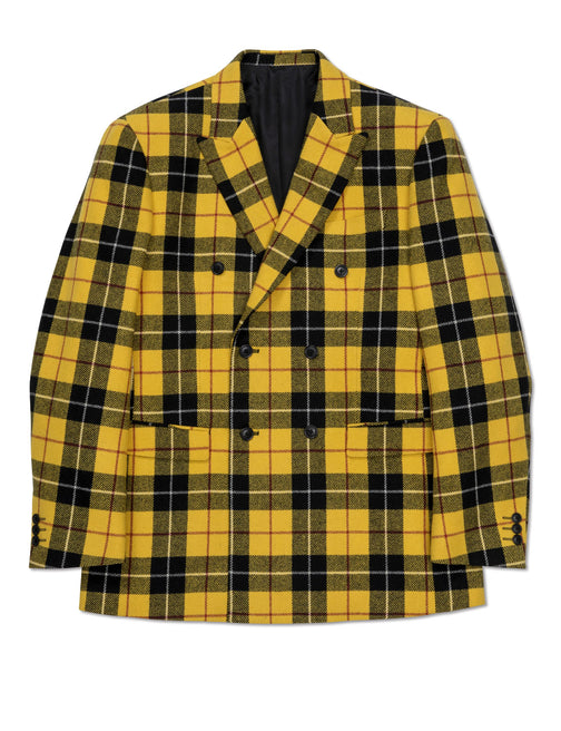 TARTAN CHECK DOUBLE JACKET