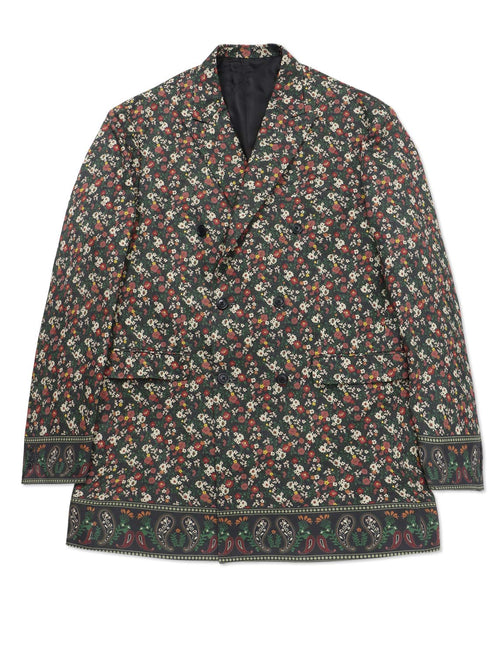 FLOWER PAISLEY MODERN DOUBLE JACKET