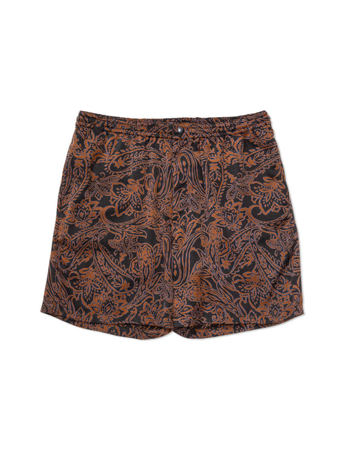 PAISLEY PATTERNED EASY SHORT