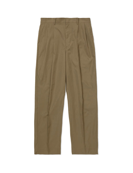 HIGH WAIST TUCKED TROUSERS