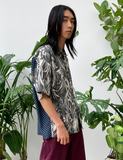 FLOWER MIX CAMP COLLAR S/S SHIRT