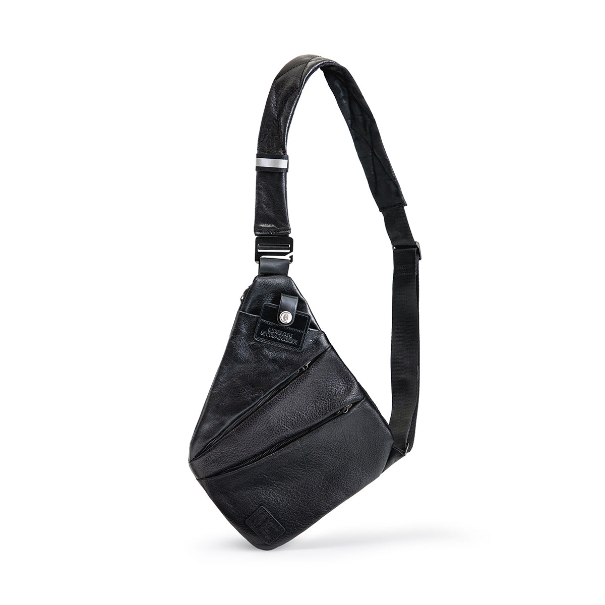 Leather Slim  Crossbody Bag