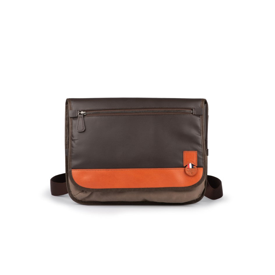 Slim Leather Crossbody Bag
