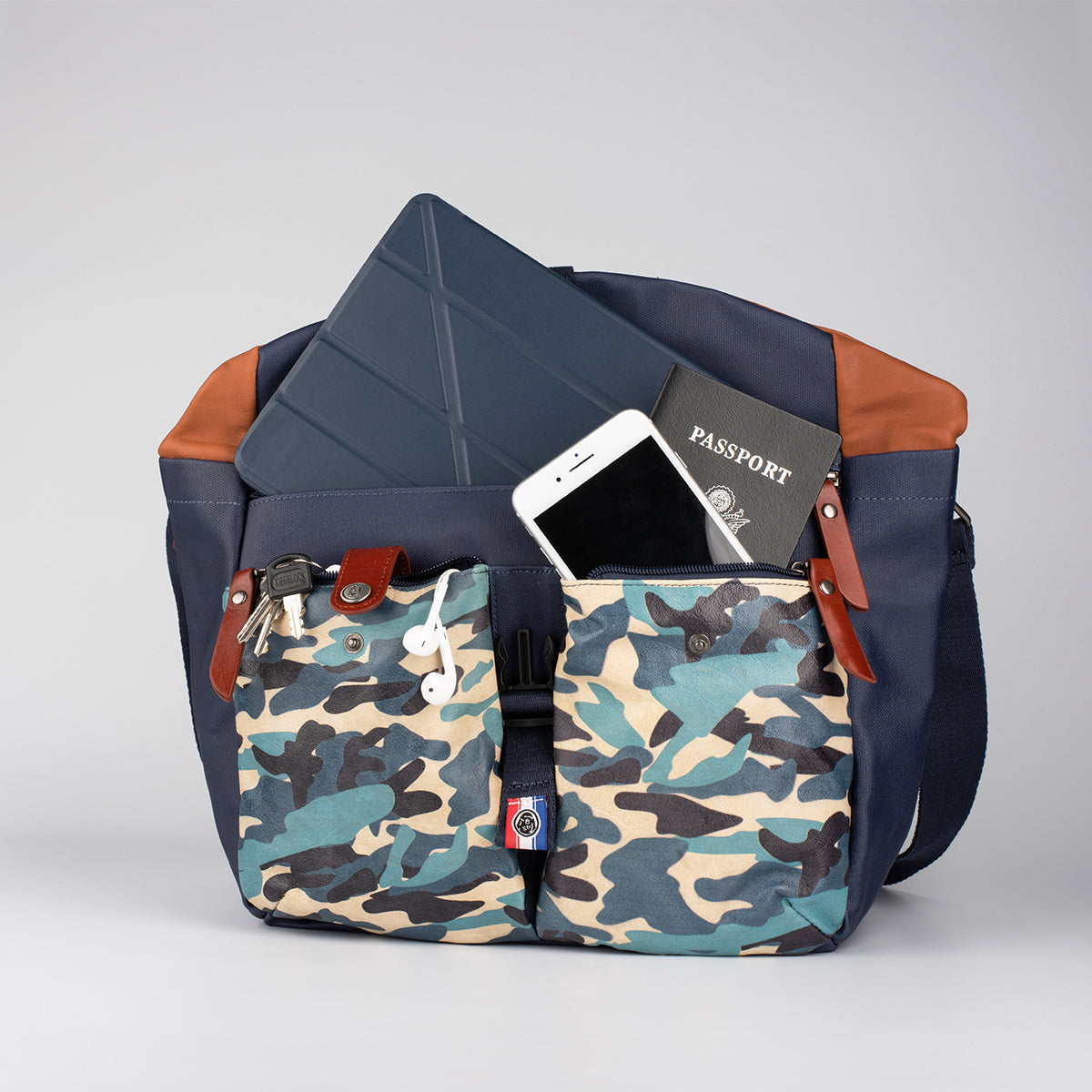 Water Repellent Messenger Bag