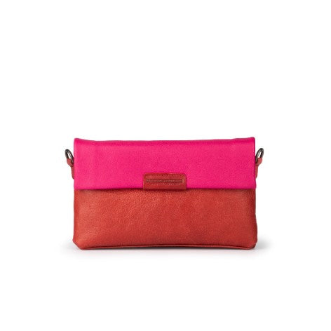 Leather Clutch Bag