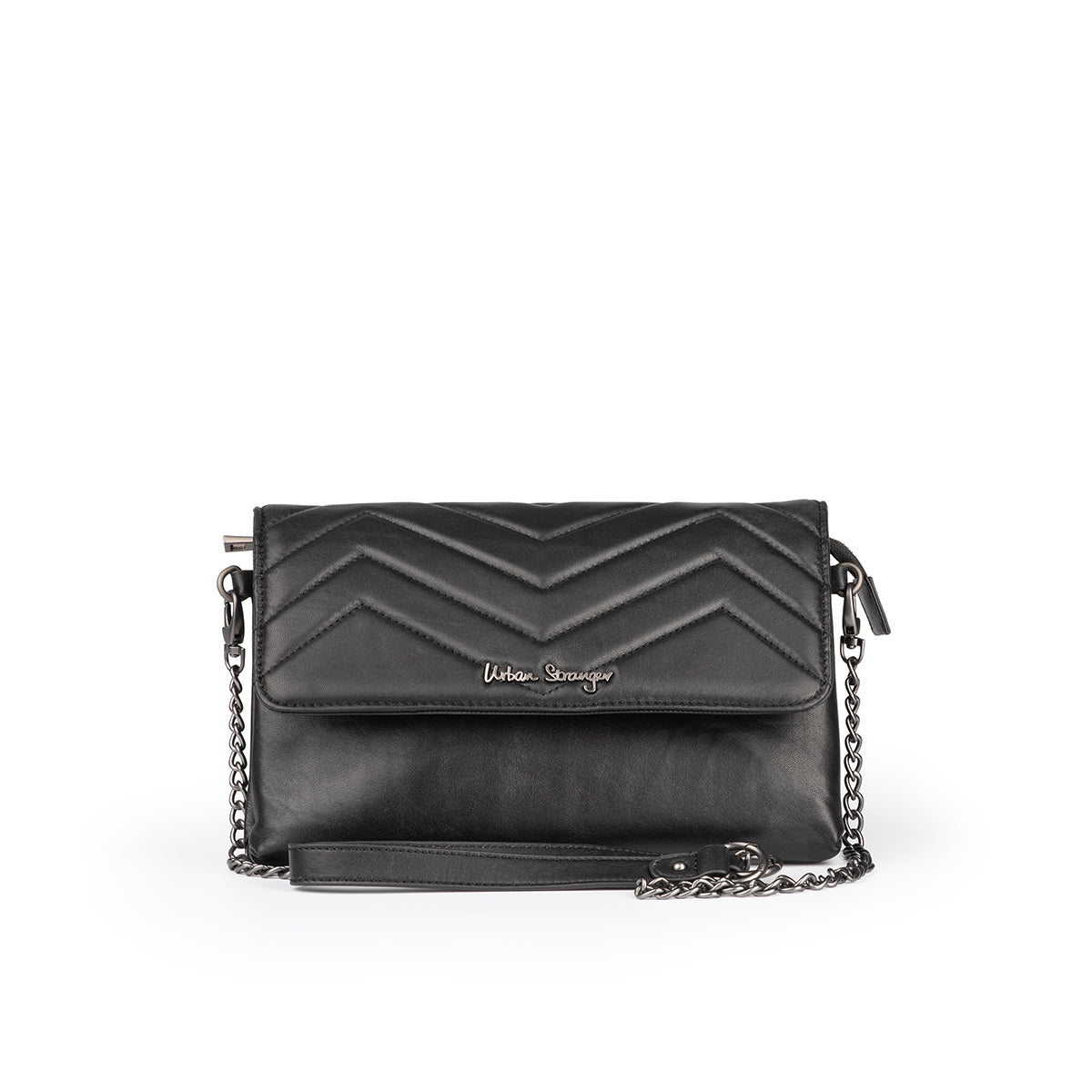 Leather Interchangeable Flap Bag
