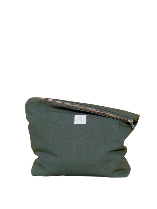 Purse, dark green