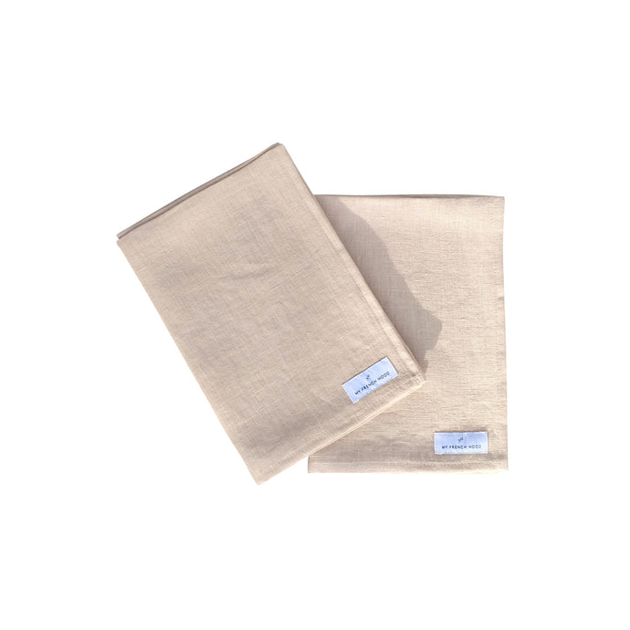 MFH Linen kitchen towel - natural, 2 pack