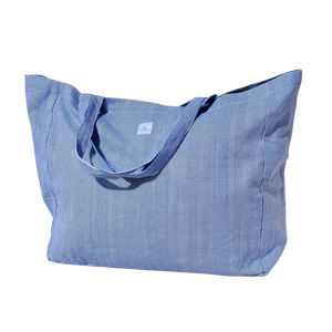 Tote Bag - blue stripe