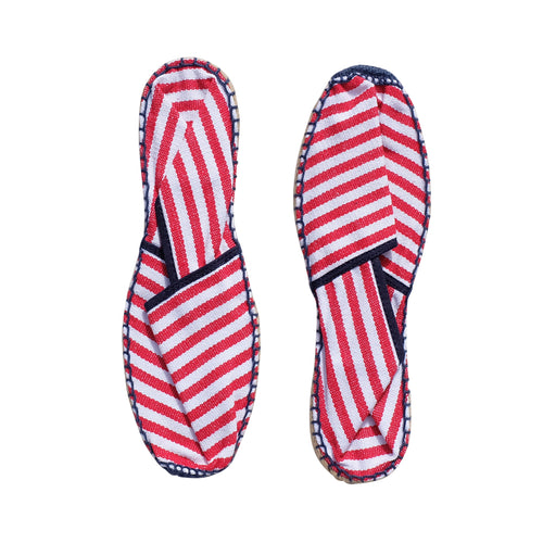 Espadrilles - red stripe