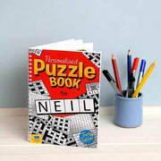 personalised activity and recreation books, shop personalised gifts