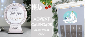Chrsitmas advent calendars from shop personalised gifts